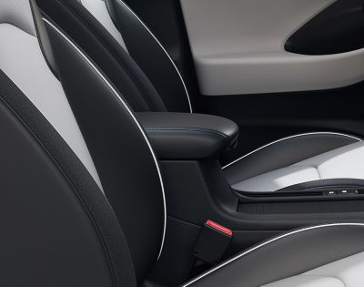 The comfortable armrest of the new Hyundai i30.