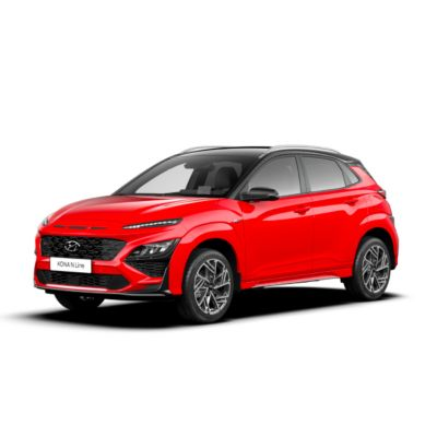 Clearcut of the new Hyundai Kona N Line.
